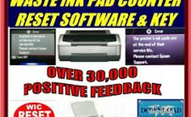 Epson L3110 How To Reset Epson Waste Ink Pad Error Within 3 Minutes For Free Dubai Khalifa