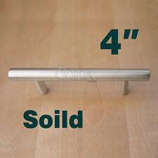 kitchen cabinet knobs black corner for pulls ebay 2 36 modern stainless steel t handles hardware