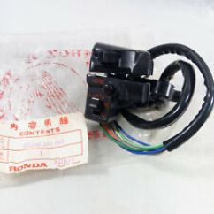 1978 Honda Ct70 Wiring Diagram Schematic Visio Template Motorcycle Parts For Cb100 Ebay Gl100 Gl125 Cb125 Cb125s Jx110 Handle Switch Lh Nos Genuine Japan