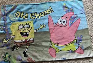 spongebob pillow case products for sale