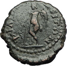 SEPTIMIUS SEVERUS Philippopolis Authentic Ancient Roman Coin w THANATOS i71277