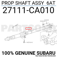 371106A620 Genuine Toyota SHAFT ASSY, PROPELLER 37110