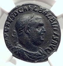 BALBINUS Authentic Ancient 238AD Rome Sestertius Ancient Roman Coin NGC i73324
