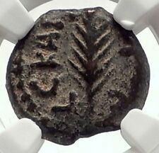 Biblical Jerusalem Saint Paul NERO PORCIUS FESTUS Ancient Roman Coin NGC i70941