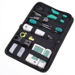 Cat6 Cable Wiring Diagram Of Alternator Network Tool Kit Ebay Ethernet Lan Rj45 Cat5e Tester Crimping