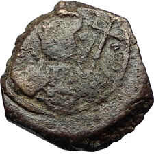 CRUSADERS of Antioch Tancred Ancient 1101AD Byzantine Time Coin St Peter i69522