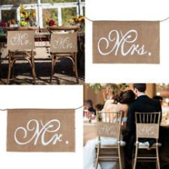 Mr And Mrs Chair Signs Toyota 4runner Captains Chairs Ebay Classical Sign Wedding Hot Rustic Sale B