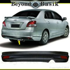 Toyota Yaris Trd Parts All New Altis 2018 Hyper Wings For Ebay 2007 2012 4dr Sedan Rear Bumper Add On Factory