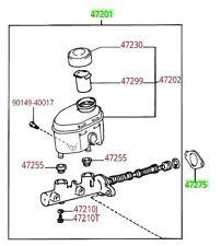 Genuine OEM Front Brakes & Brake Parts for Toyota Tundra