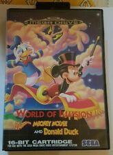 Mickey Et Donald Megadrive : mickey, donald, megadrive, World, Illusion, Megadrive, Vente
