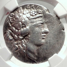 THASOS Thrace 148BC Authentic Ancient Silver Greek Tetradrachm Coin NGC i72632