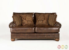 fresco antique durablend upholstery sofa american leather bed toronto ashley furniture sofas, loveseats and chaises | ebay