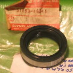 1978 Kz1000 Wiring Diagram 2002 Gm Stereo Motorcycle Parts For Suzuki Ts250 Ebay Tm250 Tm400 Ts400 T500 T350 T250 Fork Oil Seal Oem 51153 16511