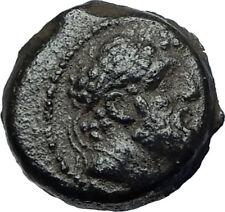 ANTIOCHOS IX Kyzikenos Ancient 110BC Seleukid Greek Coin HERCULES ATHENA i68079