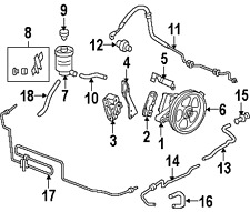 Power Steering Pumps & Parts for 2006 Honda Odyssey for