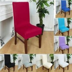 Guineys Dining Chair Covers Mothers Rocking Room Slipcovers Ebay Wedding Banquet Cover Party Decor Seat Stretch Spandex