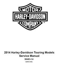 Harley-Davidson 2014 Repair Motorcycle Manuals and