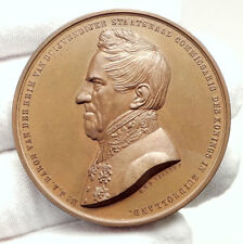1862 NETHERLANDS Baron Van Der Heim Van Duijvendijke Medal Holland i75113
