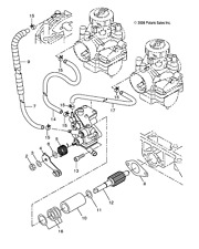 Snowmobile Shocks & Suspension for Polaris Classic 550 for