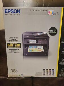 Epson Et 8700 Printer Driver : epson, printer, driver, Epson, Workforce, Inkjet, All-In-One, Printer, Computer, Printers, Stock