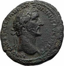 ANTONINUS PIUS Authentic Ancient 150AD Rome Genuine Roman Coin w ANNONA i75576