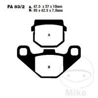 Front Sintered Brake Pads Fit APRILIA Scarabeo 100 50