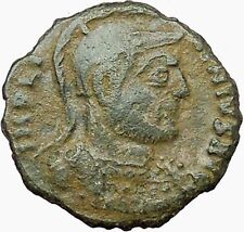LICINIUS I Constantine the Great enemy 320AD Ancient Roman Coin Flag i35000