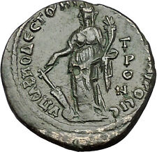 GORDIAN III 238AD Marcianopolis TYCHE VIRGO Authentic Ancient Roman Coin i50990