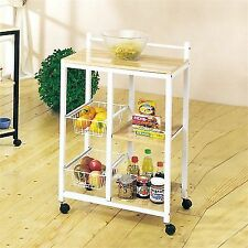 metal kitchen carts thermador package islands ebay white