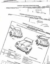 Other Manuals & Literature for 1971 Volkswagen Beetle for