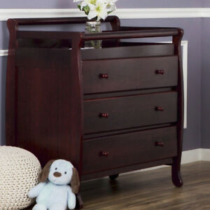 cherry wood changing table for sale ebay