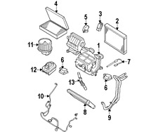 Genuine OEM Air Conditioning & Heater Parts for Land Rover
