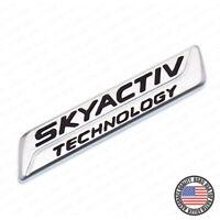 Genuine New MAZDA SKYACTIV TECHNOLOGY REAR BADGE Boot