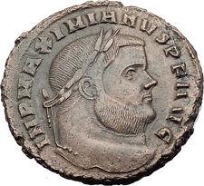 MAXIMIAN  299AD Big Follis Authentic Ancient Roman Coin Carthago i63190