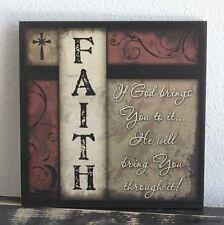 Religious Home Décor Plaques & Signs EBay