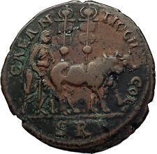 CARACALLA Antioch Pisidia PRIESTS Oxen POMERIUM City Founding Roman Coin i70680