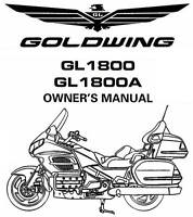 2015 HONDA GL1800 GOLDWING GPS NAVIGATION SYSTEM OWNERS