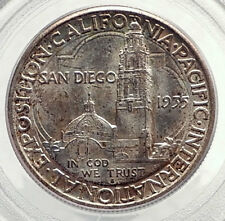 1935 SAN DIEGO Pacific Commemorative Half Dollar Silver US Coin PCGS MS  i71722