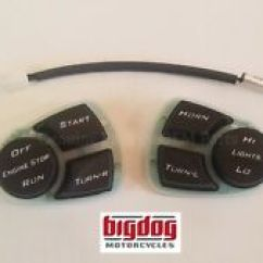 2005 Big Dog Bulldog Wiring Diagram Coleman Evcon Eb15b Motorcycle Electrical And Ignition Parts Ebay Oem Pcb Button Hand Control Board Switches 2004 11 All Models