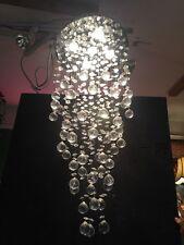 Crystal Ball Modern Cascading Chandelier