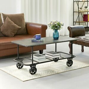 coffee table with wheels for sale in