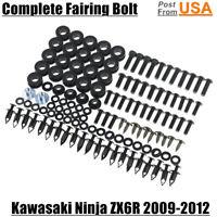 Complete Fairing Bolts Screws Body Kits Nuts For Kawasaki