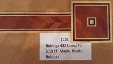 Hardwood Flooring Borders (Bubinga Herringbone)
