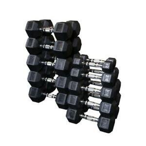 troy barbell rubber dumbbell sets for