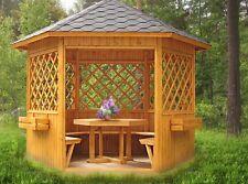 Garten Pavillon Massiv Holz Holzstarke Mm