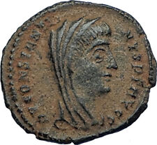 Divus Saint CONSTANTINE I the GREAT 347AD Authentic Ancient Roman Coin i68038