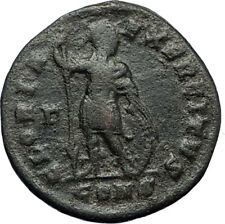 CONSTANTINE I the GREAT 327AD Constantinople Ancient Roman Coin w SOLDIER i70780