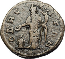 ELAGABALUS Odessos Thrace Authentic Ancient Roman Coin GREAT GOD DERZELAS i70782