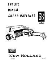 NEW HOLLAND SUPER 77 AUTOMATIC PICK-UP BALER PARTS MANUAL