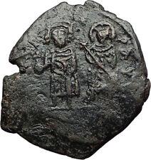 PHOCAS & LEONTIA Authentic Ancient Cyzicus Half Follis Byzantine Coin XX i71119